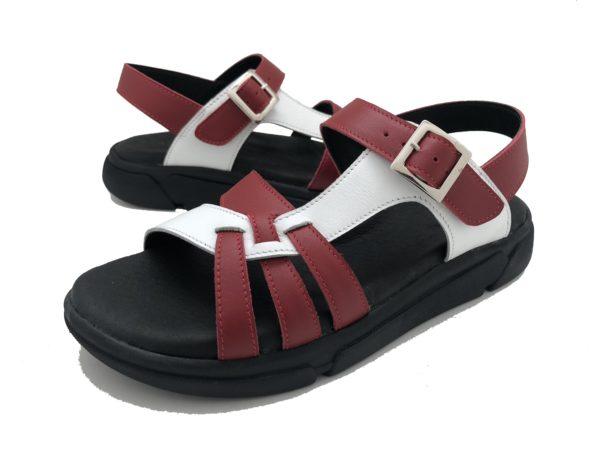 รองเท้าสุขภาพ Talon W3593 RED-WHITE